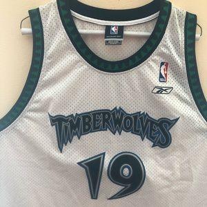 Minnesota Timberwolves Cassell Basketball Jersey